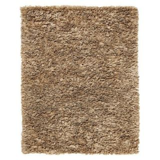 Recycle Paper Shag Area Rug   Mocha (8x10)