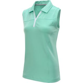 TOMMY ARMOUR Womens S14 Sleeveless Golf Polo   Size Small, Ice Green