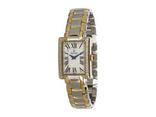 Bulova Ladies Diamond   98R157 TwoTone