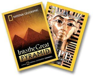 National Geographic   Into the Great Pyramid/Egypt   Quest for Eternity (2 pack) Alexander Scourby, Leslie Nielsen, Joseph Campanella, Richard Kiley, Orson Welles, E.G. Marshall, Louis Leakey, John Craighead, Mary Leakey, Frank C. Craighead, Jane Goodall,