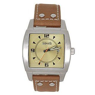 Ashworth Mens Riviera Stainless Steel Watch Clothing