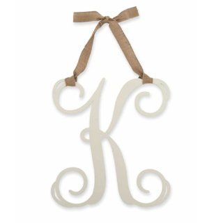 Mud Pie Initial Wall Decor Letter K