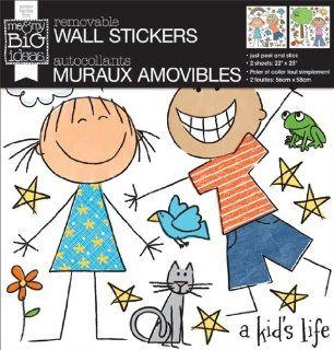 me & my BIG ideas Removable Wall Sticker, A Kid'S Life   Wall D?cor Stickers