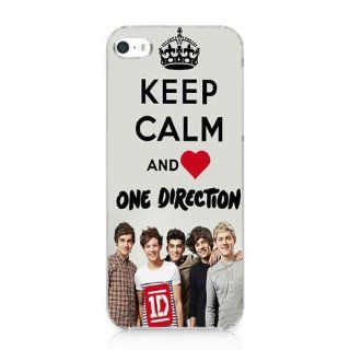 Keep Calm and One Direction Snap on Case Cover for Iphone 5 5s 2013 New Cell Phones & Accessories