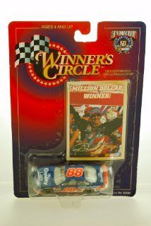 1998   Kenner   Winner's Circle   NASCAR 50th Anniversary   Dale Jarrett #88   Million Dollar Winner   Ford Taurus   w/ Trading Card   164 Scale Die Cast   Limited Edition   Collectible Toys & Games