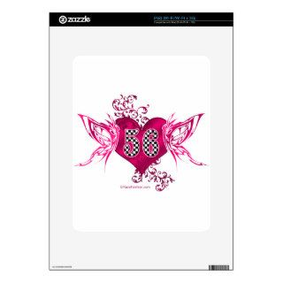 56 racing number butterflies decals for the iPad