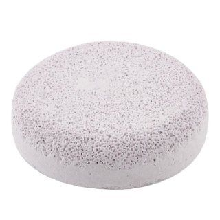 Round Design Light Pink Foot Heel Skin Nail Care Exfoliating Pumice Stone w Clear Case  Callus Stones  Beauty