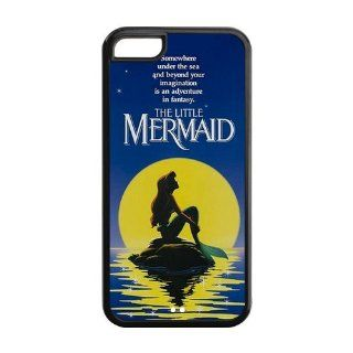 America's most beautiful cartoon character Little Mermaid Iphone 5C Custom Personalized Cover Case Electronics