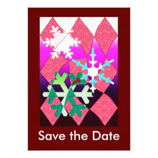Winter Party Custom Invitation
