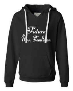 Medium Turqberry Womens Future Mrs. Tomlinson Deluxe Soft Fashion Hooded Sweatshirt Hoodie Clothing
