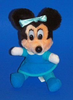 "Mickey's Christmas Carol Plush Minnie Mouse As Mrs. Cratchet (6"") Toys & Games"