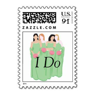 Weddings Customized Invitation Larger Size Postage Stamp