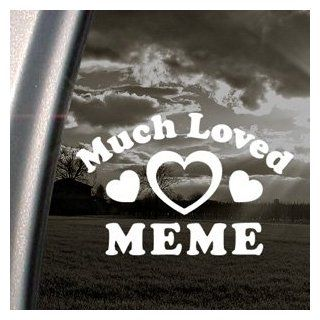 Much Loved Meme Decal Car Truck Bumper Window Sticker