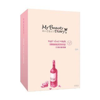 My Beauty Diary Red Wine Mask, 10 Count  Facial Masks  Beauty