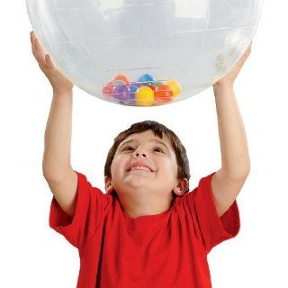 Kleer Activity Ball with Roller Balls   20'' dia Toys & Games