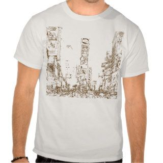 Times Square (Light) T Shirts