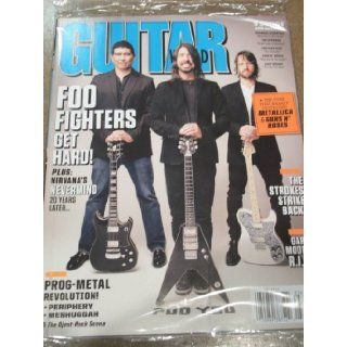 Guitar World May 2011 Foo Fighters Nirvana's Nevermind The Strokes Strike Back The Tour that Nearly Destroyed Metallica & Guns N' Roses Various Books