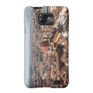 View of Florence, Italy the top of the Samsung Galaxy Covers