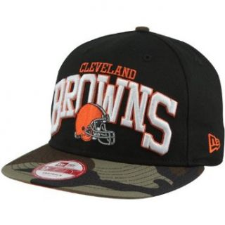 New Era Cleveland Browns Snapbackin 9FIFTY Snapback Hat   Camo/Black Clothing