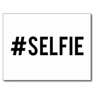 Hash tag selfie, word art, text design for t shirt post cards