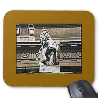 England The London Buckingham Palace Road Lion 198 Mouse Pad