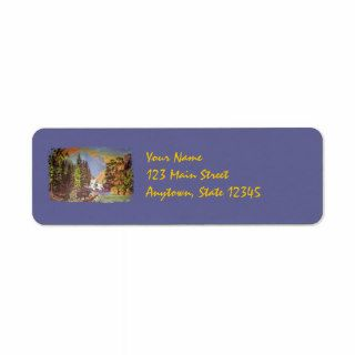 Mountain Pass Return Address Labels