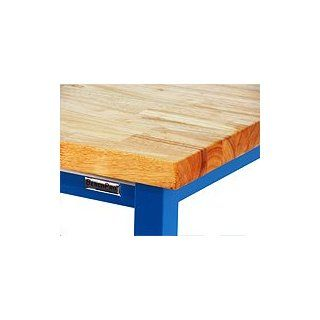 "BenchPro KW2448 Kennedy Heavy Duty Steel Garage Work Bench with Butcher Block Wood Top, 6600 lbs Capacity, 48"" Width x 30"" Height x 24"" Depth Workbenches"