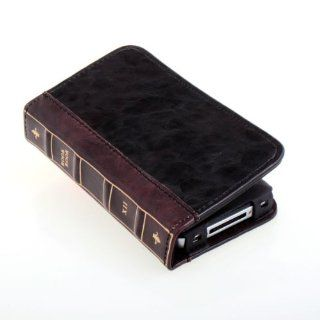 Uoften Bible Book Style Case Built In ID Credit Card Wallet for iPhone4/iPhone4S Cell Phones & Accessories