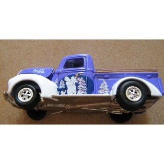 Johnny Lightning Coca Cola Holiday Ornaments 1940 Ford Pickup Truck Toys & Games