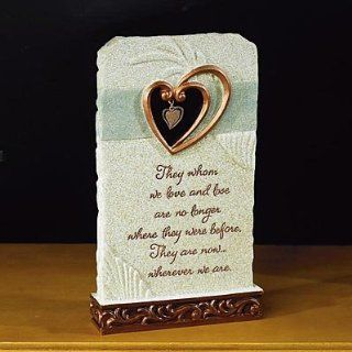 "WHISPERING WINGS   Wherever We Are"" Standing PLAQUE w/Lovely Sentiment   IN Memory Memorial of Deceased LOVED ONES/Gift/KEEPSAKE/Memorium   Christmas Ornaments"