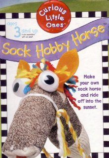 Curious Little Ones Sock Hobby Horse Toys & Games