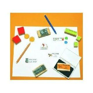 Toy / Game Awesome Stamp Please Sign And Return with Durable Plastic Storage Case & Top Quality for Children Toys & Games
