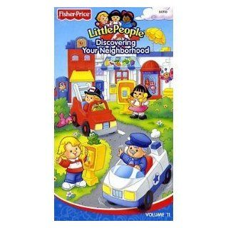 Fisher Price Little People Discovering Your Neighborhood 2004 Fisher Price Movies & TV