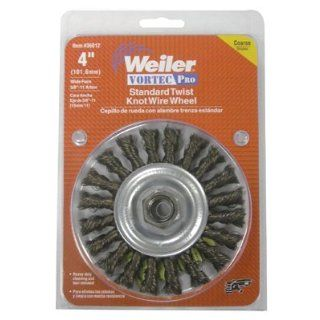 Weiler Carbon Steel Wheel Brush   0.014 in Bristle Dia Arbor Attachment   4 in OD & 20000 Max RPM   1/2 to 3/8 in Center Hole Size   Package Type Display   36026 [PRICE is per EACH] Soldering Iron Tips