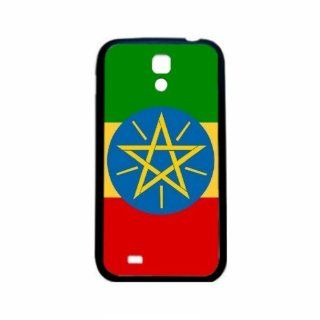 Ethiopia Flag Samsung Galaxy S4 Black Silcone Case   Provides Great Protection Cell Phones & Accessories