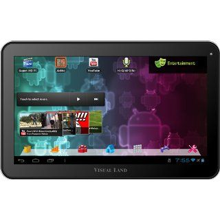 Visual Land Prestige 10 Inch Tablet with 16GB Memory (Purple)  Tablet Computers  Computers & Accessories