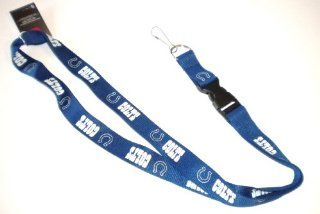 Indianapolis Colts NFL Lanyard  Sports Related Key Chains  Sports & Outdoors