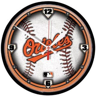 MLB Baltimore Orioles Clock Logo  Sports Related Merchandise  Sports & Outdoors
