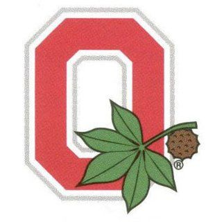 Ohio State Buckeyes Tattoos Block O Game Face  Sports Related Merchandise  Sports & Outdoors