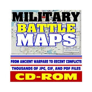 Military Battle Maps   Historic Campaigns from Ancient Warfare to Recent Conflicts, Thousands of Image Files   Revolution, Civil War, World War I and II, Korea, Vietnam, Gulf War (CD ROM) U.S. Government 9781422009611 Books
