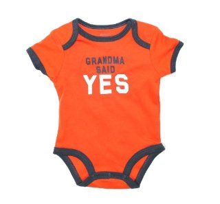 "Carter's Bodysuit, Baby Boy ""Grandma Said Yes"" Bodysuit, 3 Months  Infant And Toddler Bodysuits  Baby"