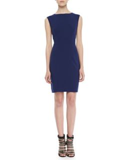 Womens Rosa Cap Sleeve Shift Dress   Susana Monaco   Navy (XS)
