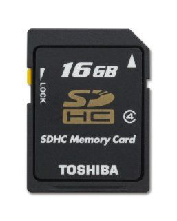 Toshiba 4GB SDHC Class 4 Secure Digital Memory Card (SD K04G2B8TRT) Computers & Accessories
