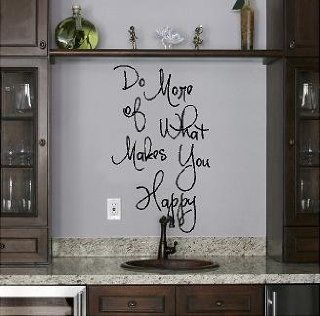 Do More of What Makes You Happy (M) wall saying vinyl lettering home decor decal stickers quotes