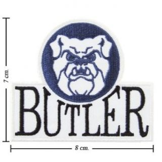 Butler Bulldogs Logo Embroidered Iron Patches Clothing