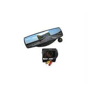 As Seen On TV Rear View Mirror Camera with Front and Rear Camera with DVR 8GB SD Card Kitchen & Dining