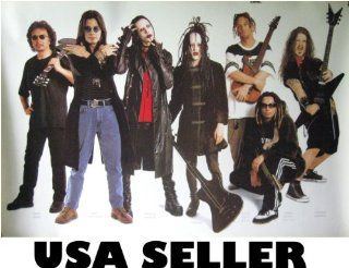 Monsters of Rock 90s OOP POSTER 31 x 21 Dimebag Darrell Marilyn Manson Twiggy Ramirez Ozzy Osbourne Tony Iommi (sent FROM USA in PVC pipe)  Prints