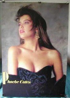 Phoebe Cates bare shouldered very HTF POSTER 21 x 31 nostalgic pin up girl from 1980s (sent FROM USA in PVC pipe)  Prints