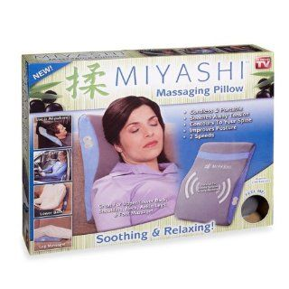 Idea Village Products MIYASHI Massaging Pillow, As Seen on TV   Quantity 1 Health & Personal Care