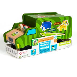 PBS Kids Wooden Toy Safari Shape Sorter  ™ Shopping   Big